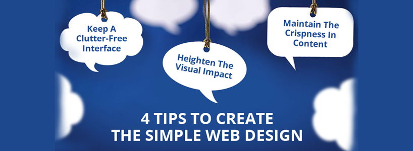 4 Tips To Create The Simple Web Design