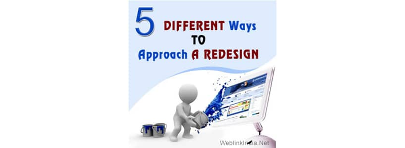 5 Different Ways to Approach a Redesign