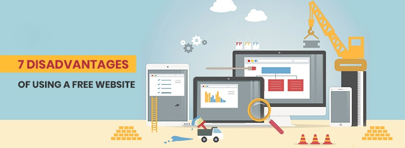 7 Disadvantages Of Using a Free Website