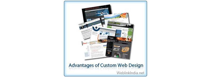 Advantages of Custom Web Design