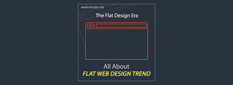 All About Flat Web Design Trend