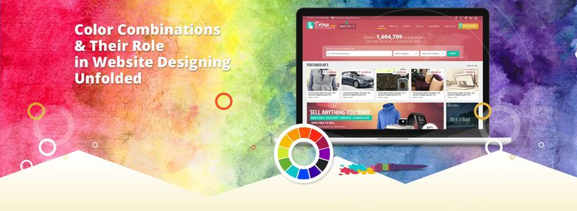 Color Combinations & Their Role in Website Designing Unfolded