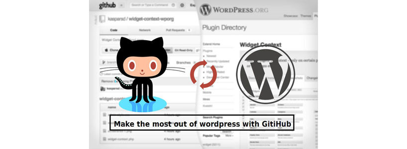 Make the most out of wordpress with GitHub