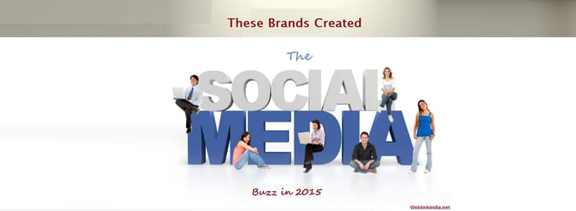 These Brands Created The Social Buzz in 2015
