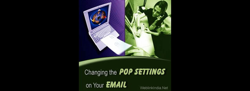 Changing the POP Settings on Your Email