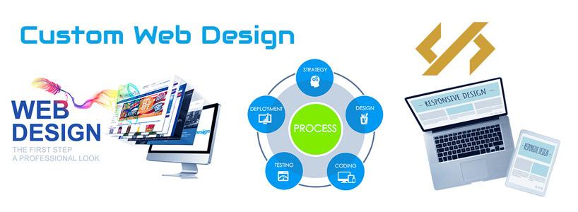 Creating Virtual Identity via Custom Web Designs