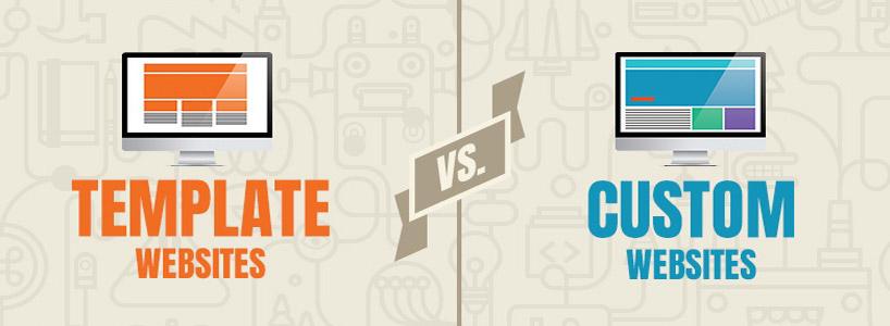 Custom Web Design Versus Web Template