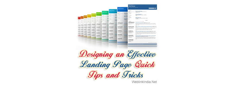 Designing an Effective Landing Page: Quick Tips and Tricks