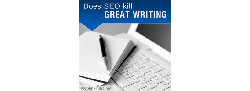 Does SEO Kill Great Writing