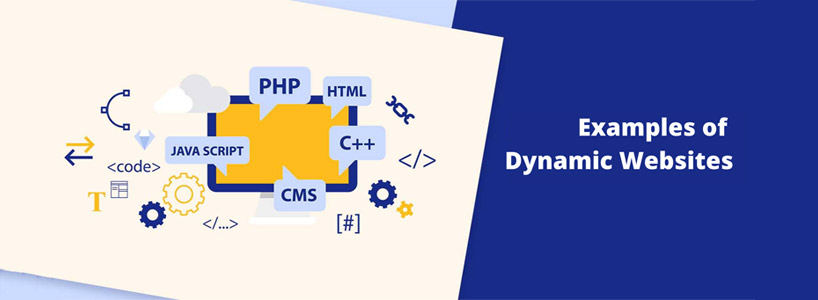 What are dynamic websites ?