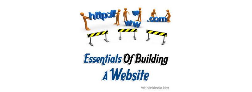 Essentials Of Building A Website