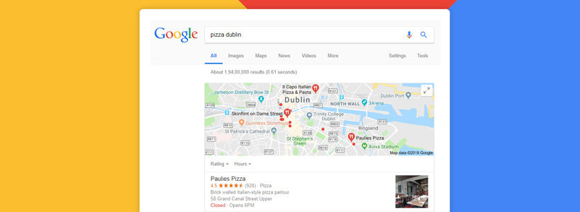 Targeting your company in Local Search result