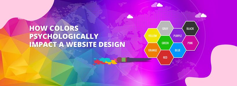 How Colors Psychologically Impact a Website Design