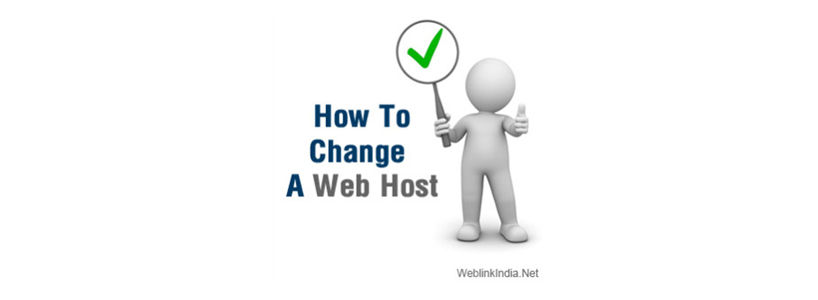 How To Change A Web Host
