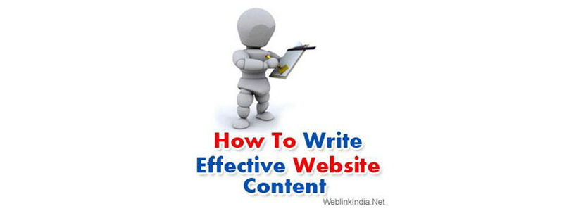 How To Write Effective Website Content
