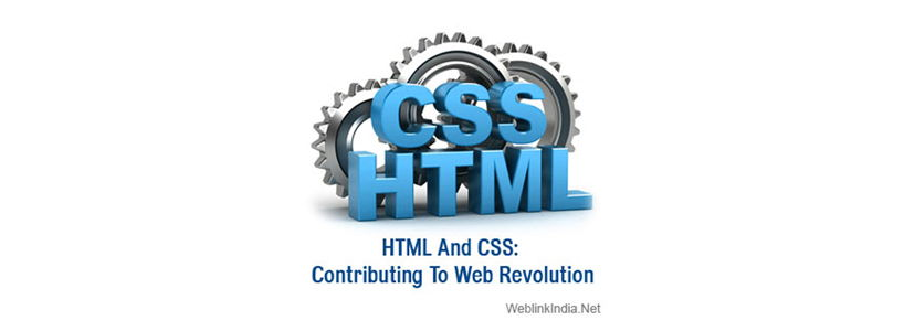 HTML And CSS: Contributing To Web Revolution