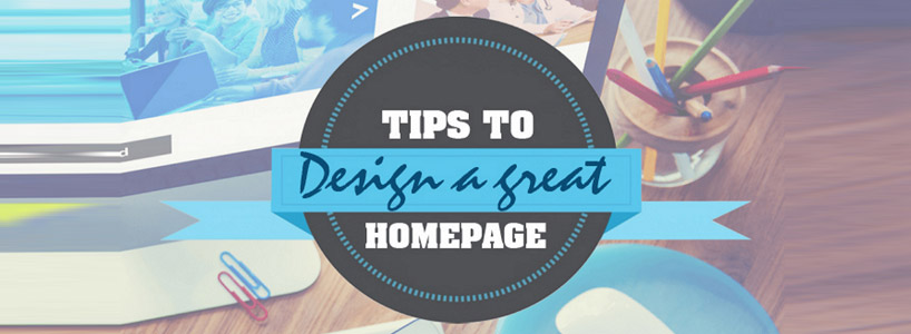 Important Tips For An Impressive Home Page Design