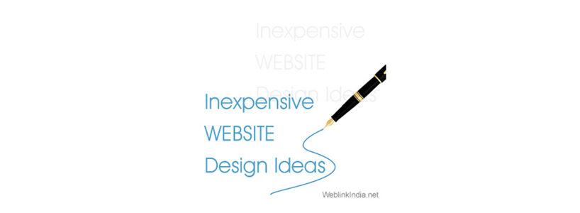 Inexpensive Website Design Ideas