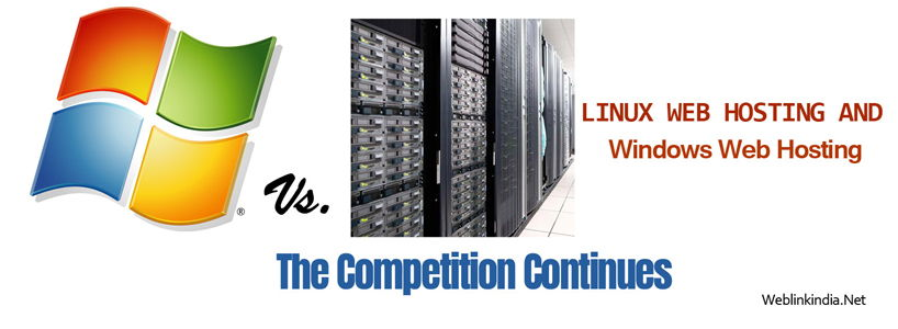 Linux Web Hosting And Windows Web Hosting - The Competition Continues
