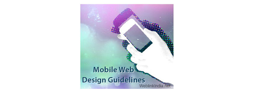 Mobile Web Design Guidelines