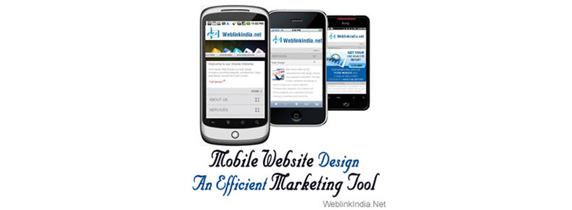 Mobile Website Design: An Efficient Marketing Tool
