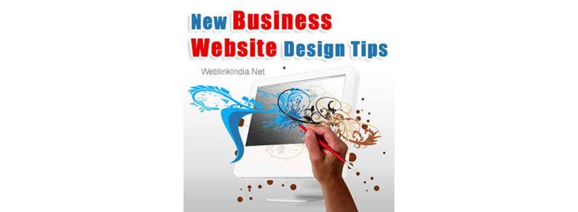 New Business Website Design Tips