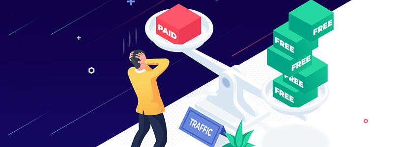 Paid Traffic Versus Free Traffic! Which Is Best?