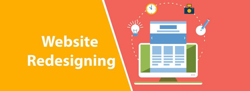 Redesign Websites: Some Insights