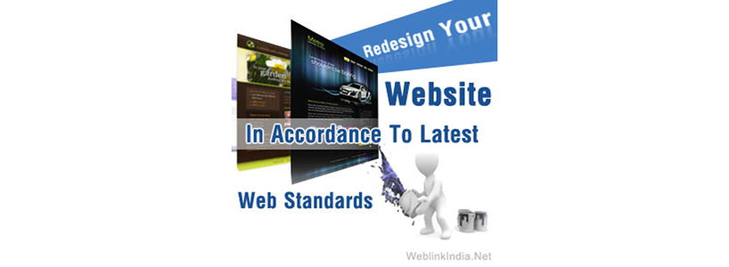 Redesign Your Website In Accordance To Latest Web Standards