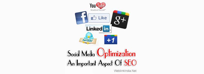 Social Media Optimization - An Important Aspect Of SEO