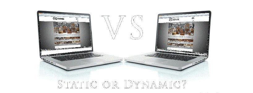 Static Vs Dynamic Website: Advantages And Disadvantages