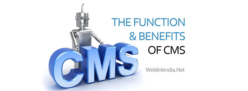 The Function & Benefits Of CMS