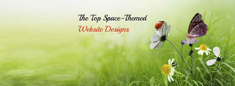 The Top Space-Themed Website Designs