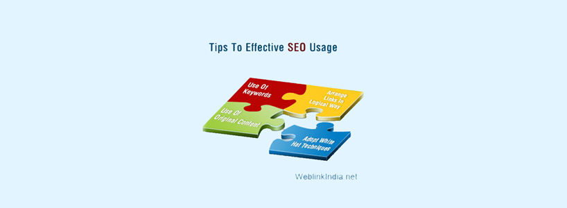 Tips To Effective SEO Usage