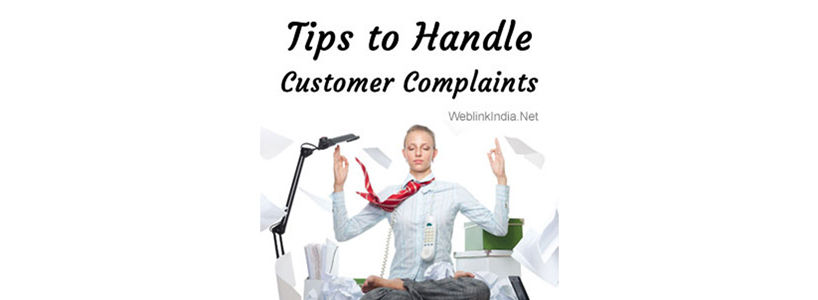 Tips to Handle Customer Complaints
