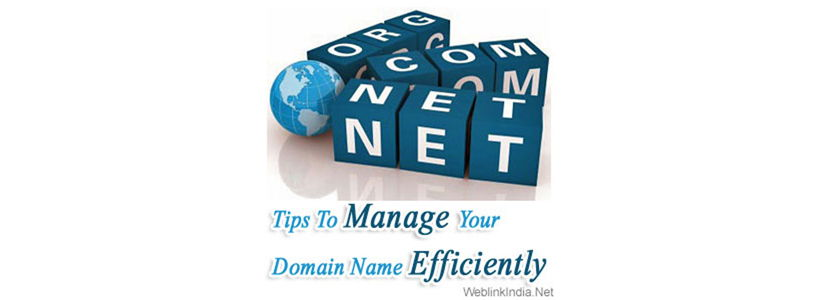 Tips To Manage Your Domain Name Efficiently
