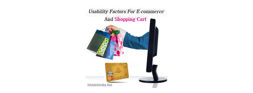 Usability Factors For E-commerce And Shopping Cart