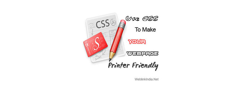 Use CSS To Make Your Webpage Printer Friendly