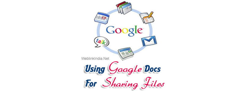 Using Google Docs For Sharing Files