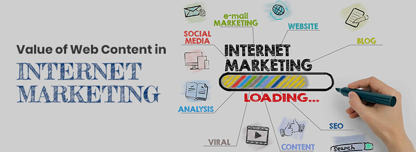 Value Of Web Content In Internet Marketing