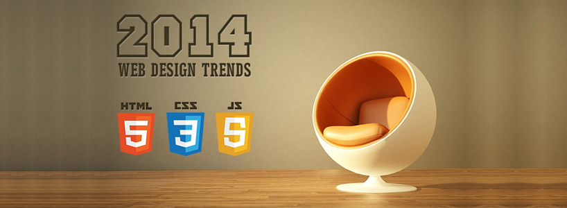 Web Designing Trends For 2014