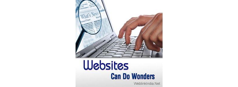 Websites Can Do Wonders
