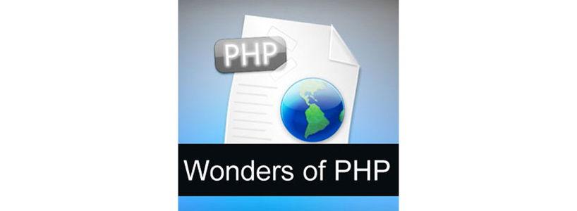 Wonders of PHP