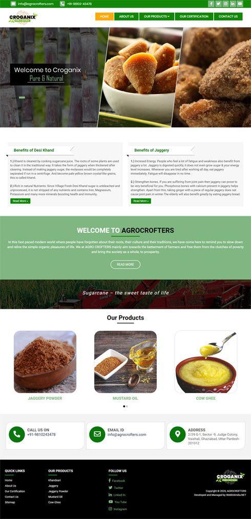 Agro Crofters  - India Portfolio