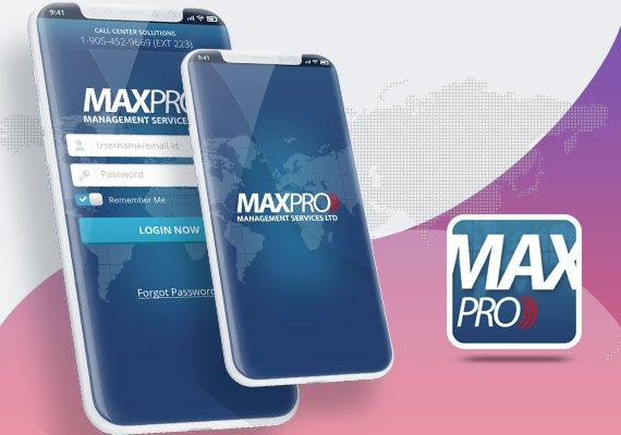Max Pro Management - Mobile Apps Portfolio