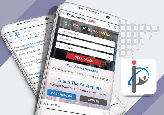 Placement India - Mobile Apps Portfolio